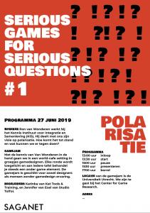 flyer SAGANET Seminar 27 jnui 2019 - Polarisatie